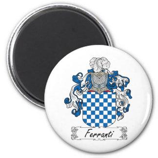 Ferranti Family Crest Fridge Magnet