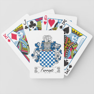 Ferranti Family Crest Poker Deck
