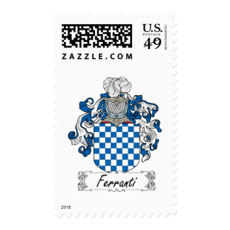 Ferranti Family Crest Postage Stamps