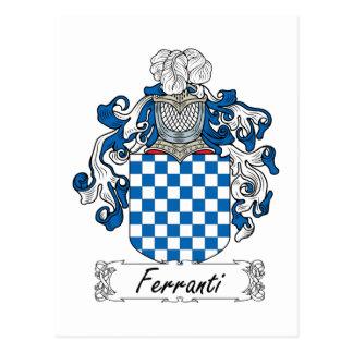 Ferranti Family Crest Postcards