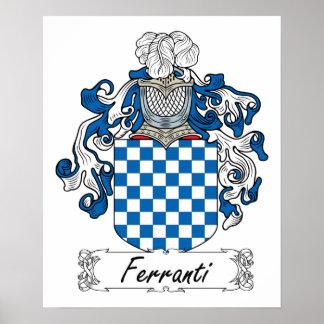 Ferranti Family Crest Print