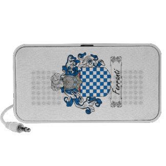 Ferranti Family Crest iPod Speakers