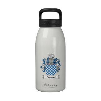 Ferranti Family Crest Drinking Bottle