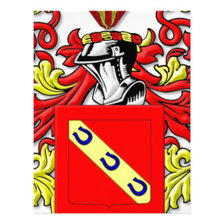 Ferrara Coat of Arms Letterhead Design