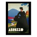 Ferrari Abruzzo Italy Postcard