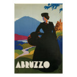 Ferrari Abruzzo Italy Poster