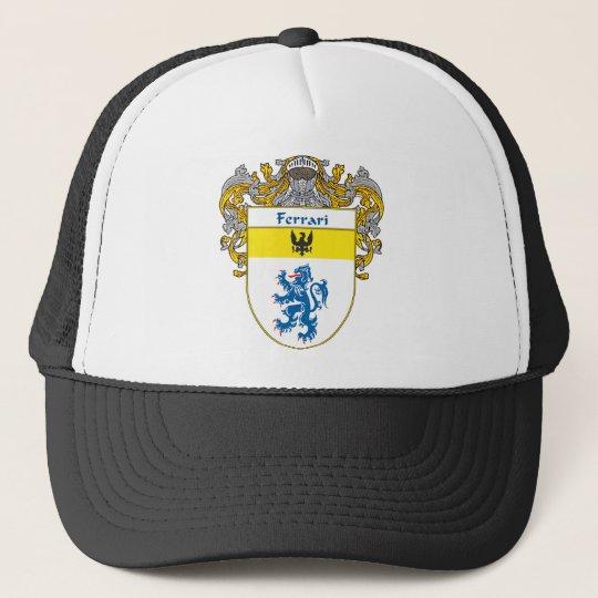 Ferrari Coat of Arms (Mantled) Trucker Hat