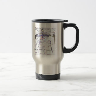 Ferrari Commute Cup - Dream, Earn, Attain 15 Oz Stainless Steel Travel Mug