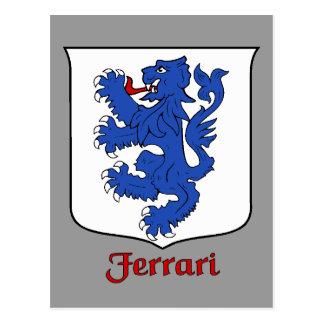 Ferrari Family Shield Postcard