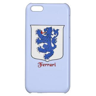 Ferrari Italian Surname Historical Shield Cover For iPhone 5C