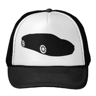 ferrari racing car auto black trucker hat