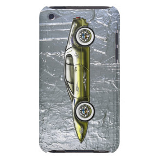 Ferrari Sports Car Custom Gold and Silver iPod Touch Cases