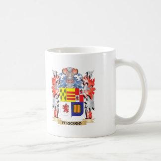 Ferrario Coat of Arms - Family Crest Coffee Mug