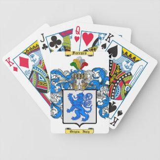 Ferraro Bicycle Poker Cards