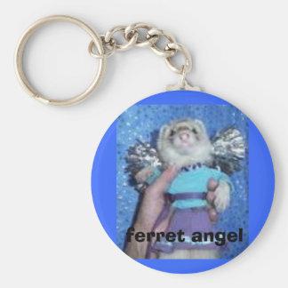ferret angel keychain