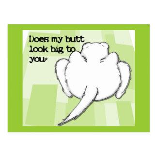 Ferret Butt Postcard