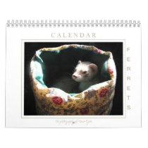 Ferret Calendar 1st Edition