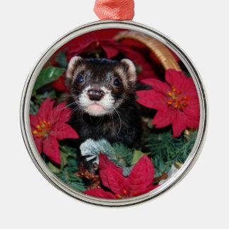 Ferret Christmas Oranment Christmas Tree Ornaments