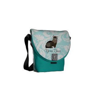 Ferret; Cute Courier Bag
