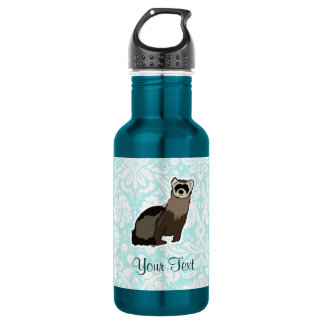 Ferret; Cute Stainless Steel Water Bottle