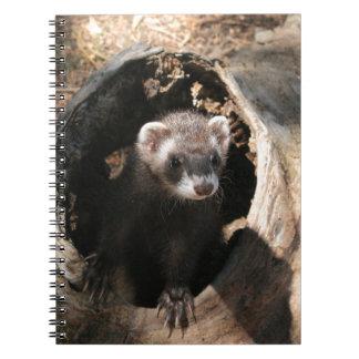 Ferret Face Notebook