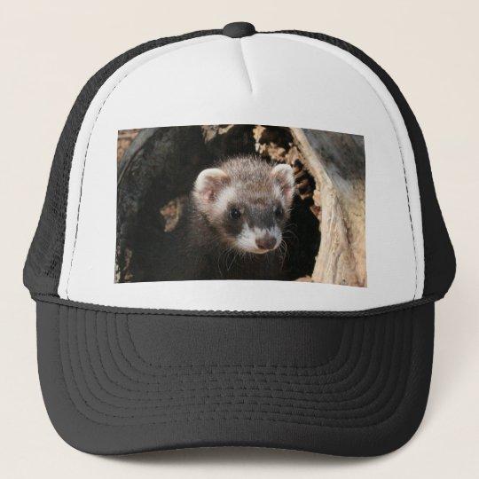 Ferret Face Trucker Hat