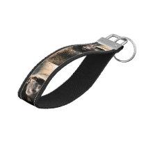 Ferret Face Wrist Keychain