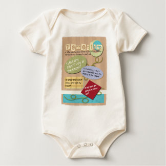 Ferret Faces Sayings and Quotes Baby Bodysuit