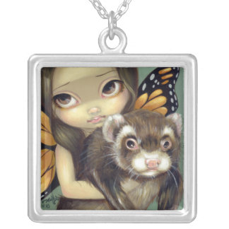Ferret Fairy - Faces of Faery #97 NECKLACE