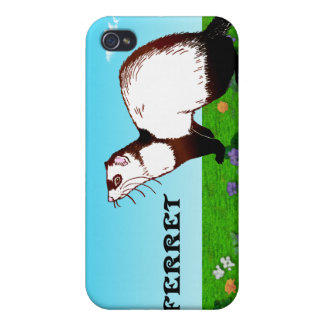 Ferret . iPad , iPhone Cases Covers For iPhone 4
