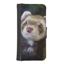 Ferret iPhone SE/5/5s Wallet Case