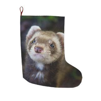 Ferret Large Christmas Stocking