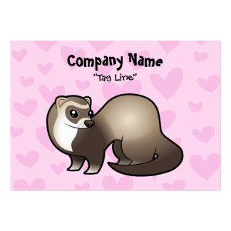 Ferret Love Large Business Cards (Pack Of 100)