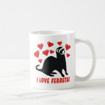 Ferret Love Coffee Mug