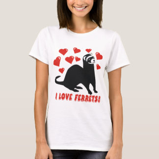 Ferret Love T-Shirt