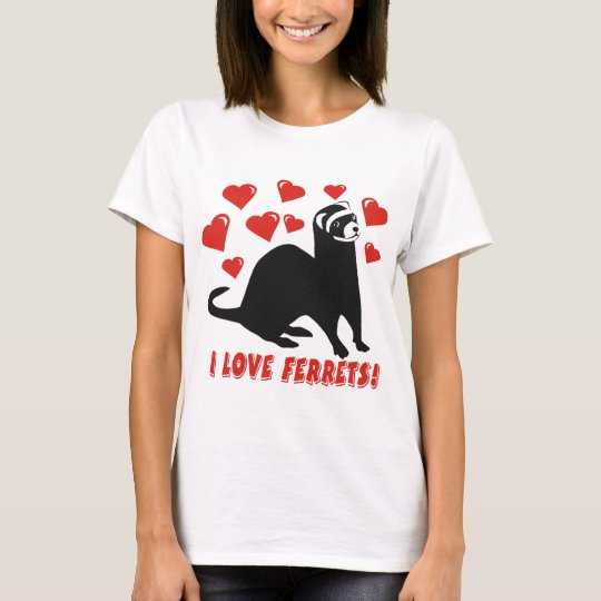 Ferret Love T-Shirt
