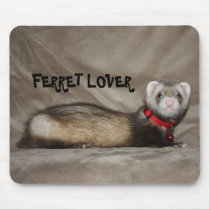 FERRET LOVER MOUSE PAD