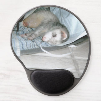 ferret napping gel mouse pad