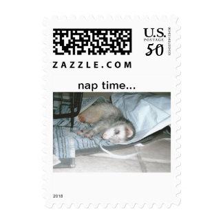 ferret napping postage