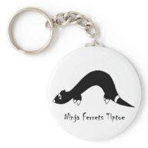 Ferret Ninja Keychain