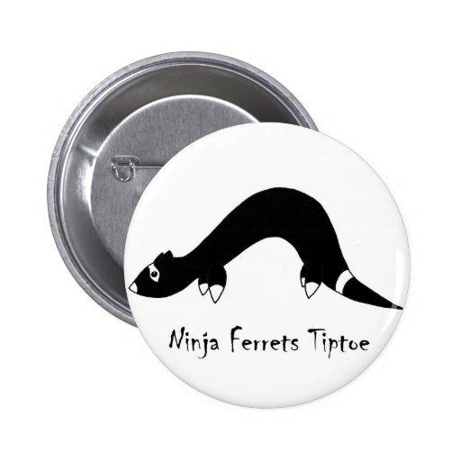Ferret Ninja Pins
