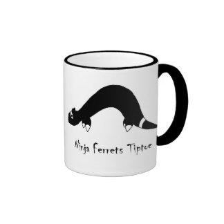 Ferret Ninja Ringer Mug