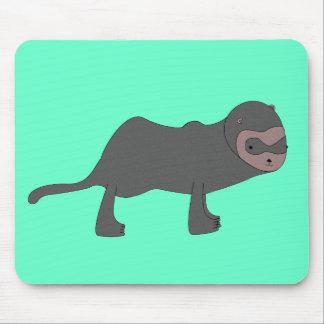 Ferret on a Mousepad