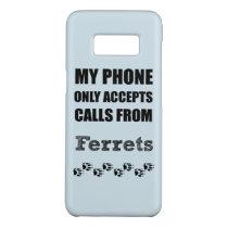 Ferret Phone Calls Case-Mate Samsung Galaxy S8 Case
