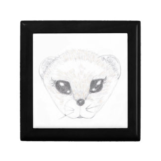 Ferret Picture Jewelry Box
