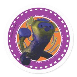 Ferret: Purple and Nine Sticker
