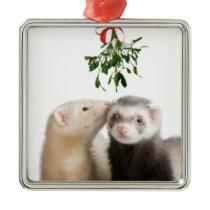 Ferret Smooches ornament