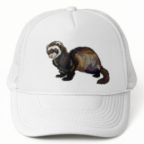 ferret trucker hat