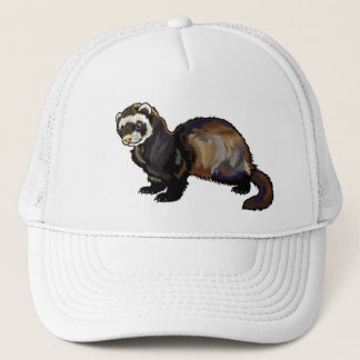 ferret trucker hat