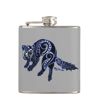 Ferret Trybe: War Dance! Flask